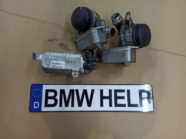 Масло стакан Тепло обменник БМВ Ф30 Ф25 Ф10 N20 B20 N26 Разборка BMW