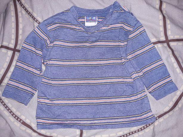 3 bluzki długi rękaw r. 86 92