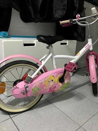 Bicicleta menina 16'