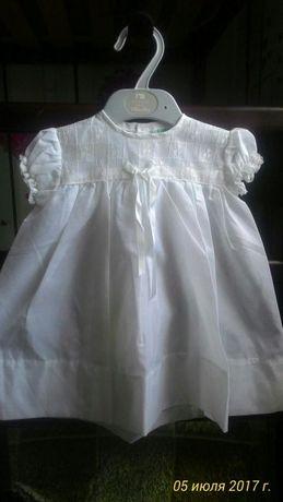 Платье для крещения для малышек.