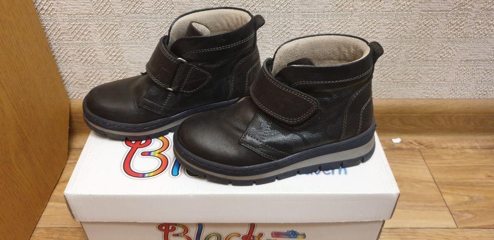 Ботинки демисезон, кожаные, стелька 17,5 см Чернигов - изображение 1
