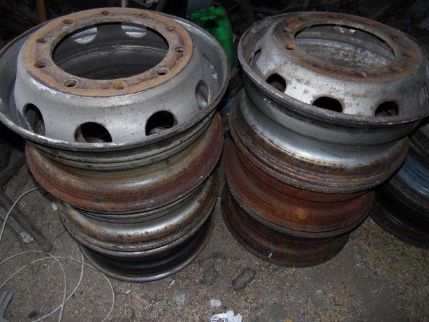 Стальной колесный диск R22.5 Mercedes, Man, Neoplan, Setra