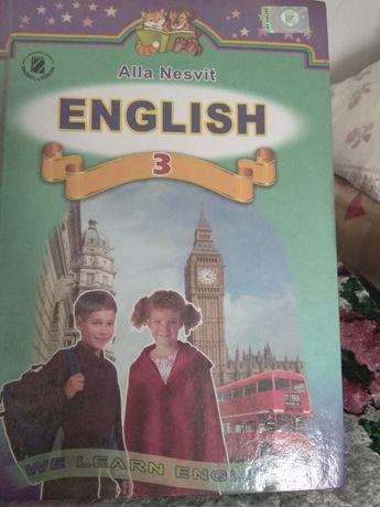 Англійська мова 3 клас, підручник