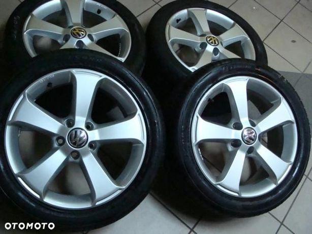 KOLA FELGI 17 VW GOLF turan r line zima opony