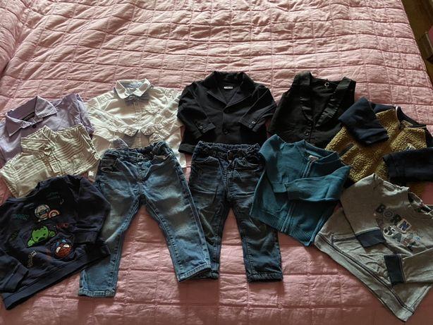 Пакет одежды на 12-18 мес на мальчика