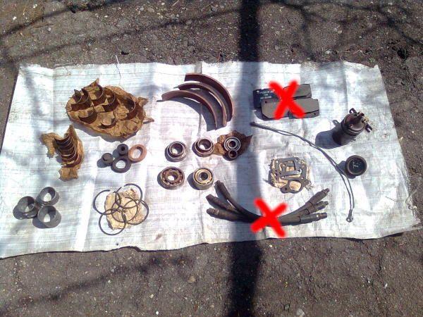 Москвич 407: запчасти и кузовные детали