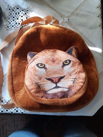 Plecak dziecięcy lew tygrys