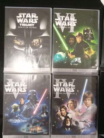 StarWars Trilogy DvDs