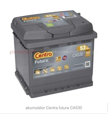 Akumulator CA530 Centra Futura 53Ah 540A P+
