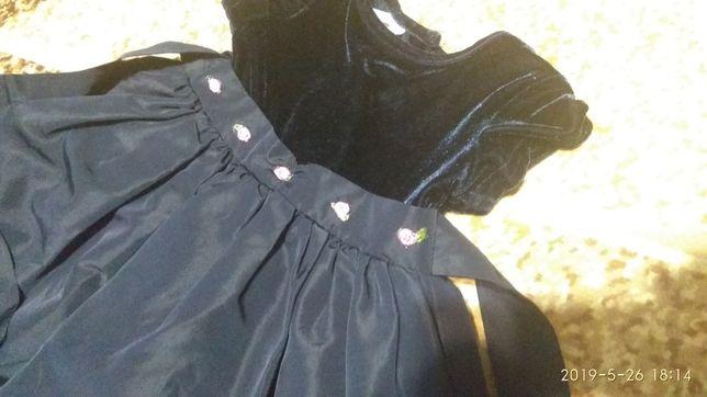 Нарядное платья на 2 - 3 года