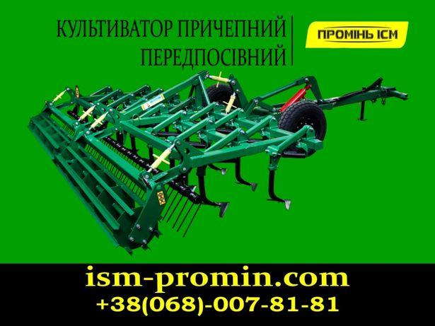 Культиватор прицепной КП КН СТЕП КПН 3/4/6/8/9м, 2-х и 3-х рядный