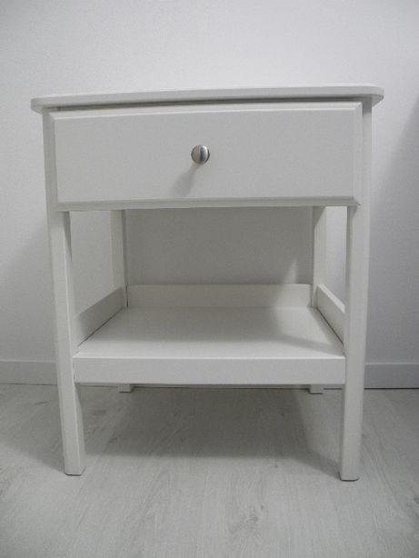 stolik nocny/szafka biała Ikea Tyssedal 51x40 stan idealny