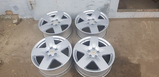 14* Продам оригинальные диски Chevrolet Captiva R18 5x115