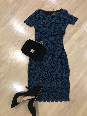Нарядное платье) платье гипюр) платье orsay) платье миди)
