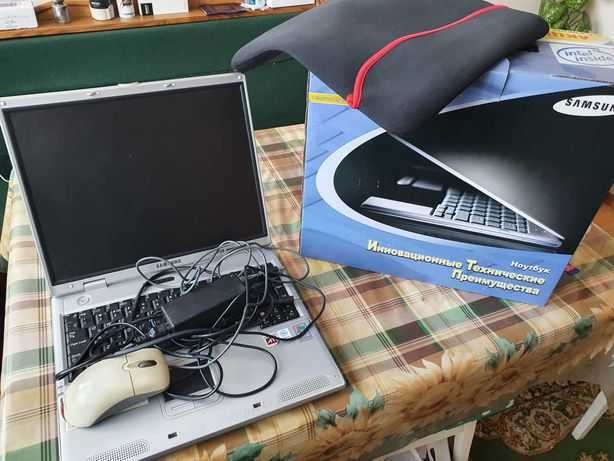 Ноутбук Samsung P28 + мышка + чехол
