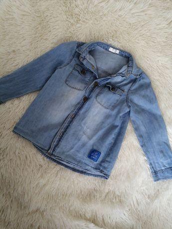 Koszula jeansowa dla chłopca 92