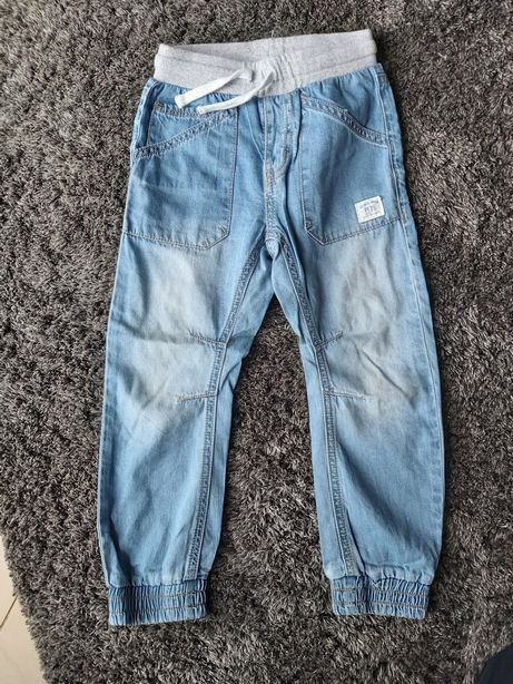 Joggery jeansowe kappahl rozm. 104