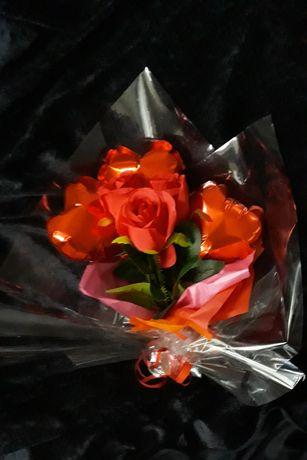 Bukiet z różami dla ukochanej osoby