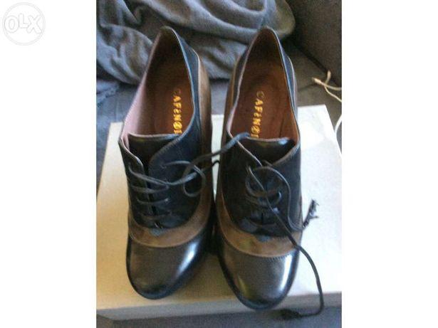 Sapatos senhora Café Noir novos 37