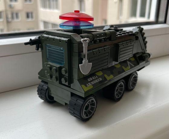 Lego_военный автомобиль