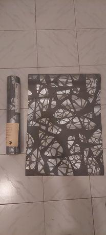 Papel de parede cinzento