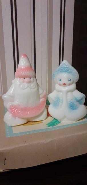 Ёлочные игрушки! Дед Мороз и Снегурочка! ЦЕНА ЗА ВСЁ!