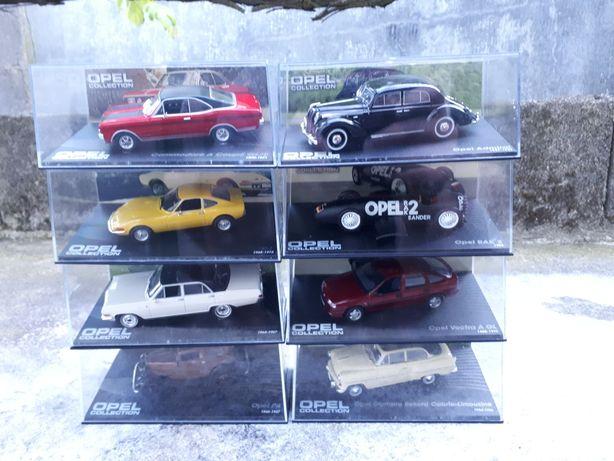 Coleção de miniaturas Opel