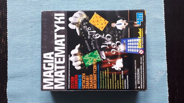 magia matematyki dla dzieci, zestaw zagadek i sztuczek