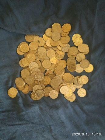 Монеты разные 25,50,10,5 коп