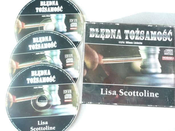 Błędna tożsamość Liza Scottoline 3 CD audiobook audioksiążka