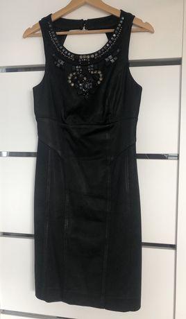 Sukienka Monnari 36 czarna aplikacje S