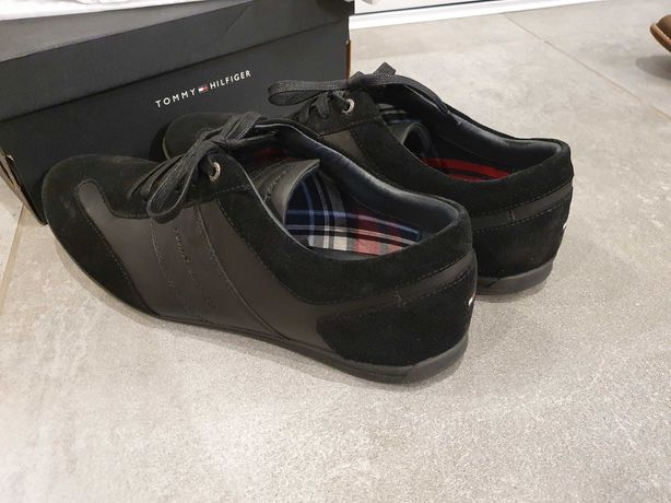Buty męskie sneakersy TOMMY HILFIGER FM0FM01446 Black 990 NOWE!!!