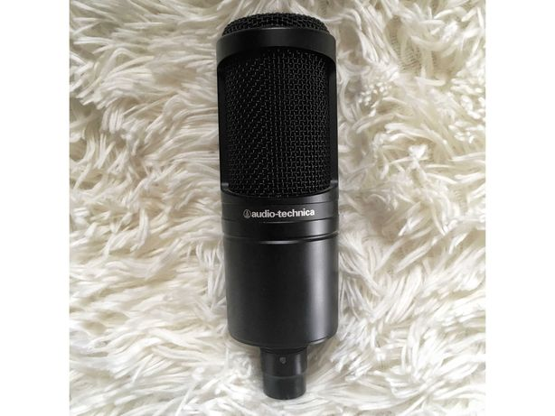 Mikrofon Studyjny Audio-Technica AT2020 + Akcesoria