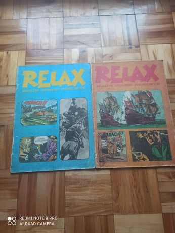 Komiksy Relax magazyn opowieści rysunkowych .
