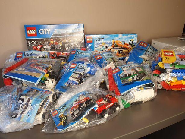 Lego CITY - różne zestawy, komplet