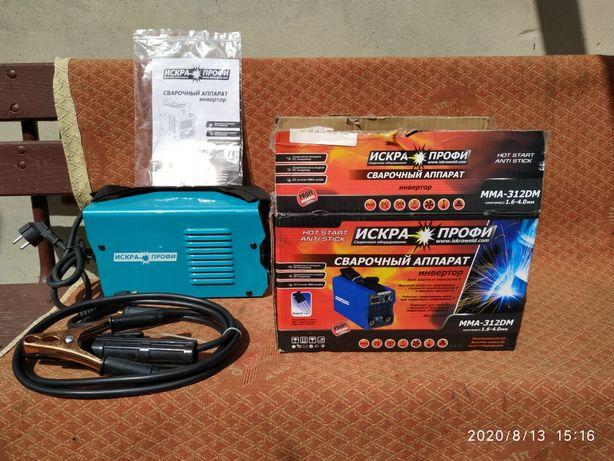 Продам інверторний сварочний ИСКРА ПРОФИ ММA-312 DM-310 ампер(Росия)