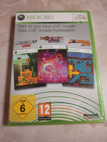 Xbox live arcade - Novo e selado