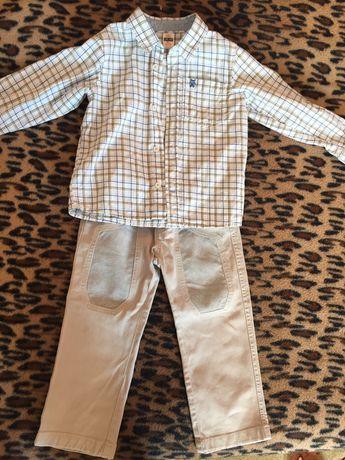 Сорочка штани комплект для хлопчика
