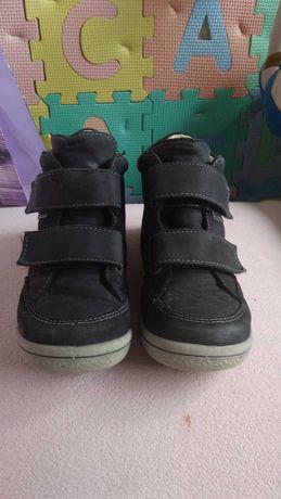 Ботиночки, хайтопы на девочку 28 размер кожа