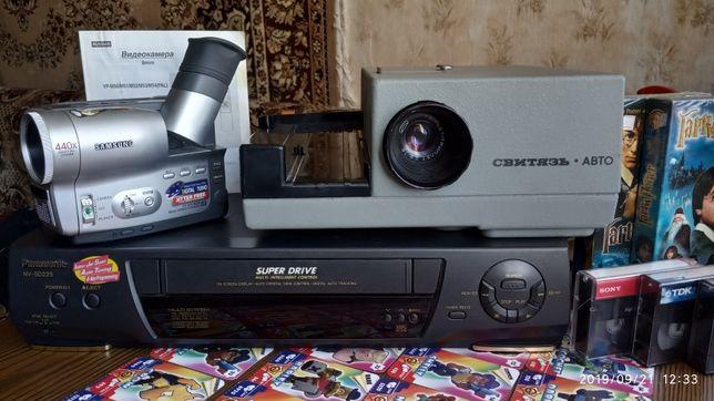 Продам видеоаппаратуру проектор б \у рабочая.