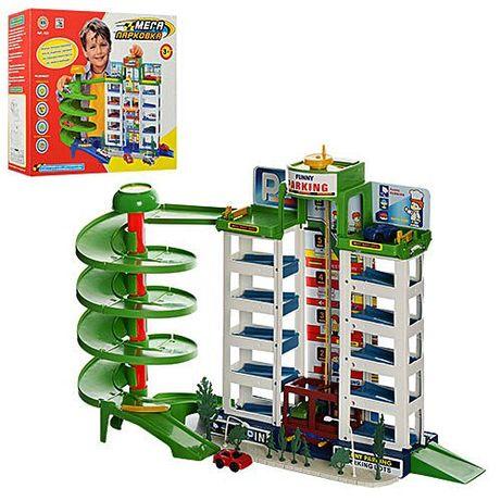 Мега паркинг!6 уровней,лифт,эстакада,спиральный спуск,гараж,парковка
