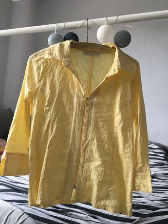 Żółta koszula vintage
