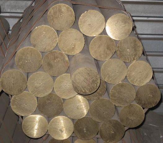 Круг латунный, пруток ф 4 до 160 мм ЛС59, Л63 мягкий, твёрдый