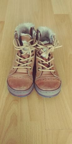 Buty zimowe  skorzane