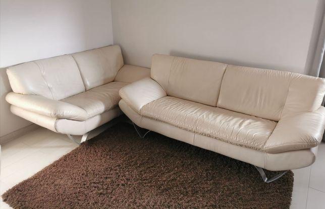 Komplet wypoczynkowy sofa + fotel