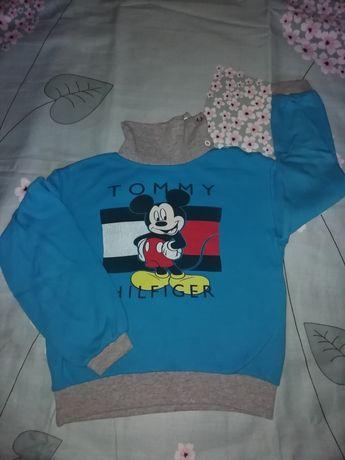 Джемпер, водолазка, свитер на мальчика с Микки Маусом