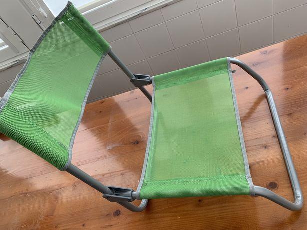 Cadeira de praia tubo de aço