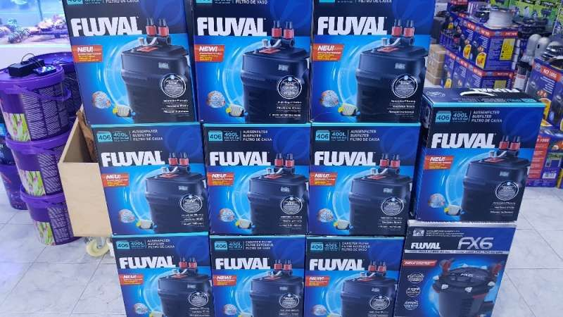 Filtro para aquario Fluval novo 406 Maia - imagem 1