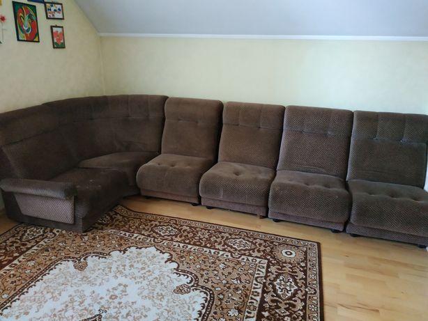 Кутовий диван/ угловой диван з 6 елементів