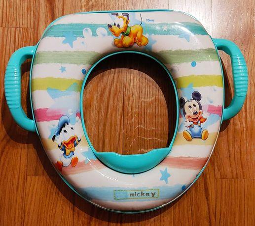 Adaptador/Redutor sanita Disney baby - Mickey Mouse - com Pegas